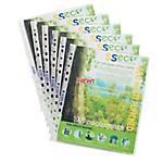 Pochettes oxo biodégradables SSeco Sseco A4 Transparent   100
