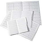 Répertoire pour semainier Office Depot 1 Semaine sur 2 pages 16 (H) x 24 (l) cm Noir