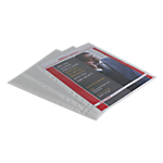 Pochettes perforées Office Depot Standard PP A4 Transparent