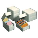 Boîtes à fiches métal