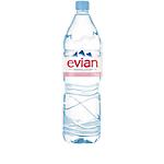 12 Bouteilles d'eau   Evian   1,5 L