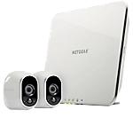 Système de sécurité avec deux caméras HD NETGEAR Arlo VMS3230