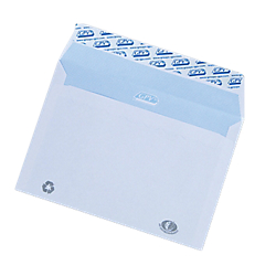 Enveloppes gpv c6 90 g m2 blanc sans fenetre autocollante for Pellicule autocollante pour fenetre