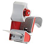Dévidoir à poignée 50mm (l) x 100m (L) Office Depot Blanc, rouge