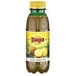 12 bouteilles de jus de fruits   Pago   Ananas   33 cl