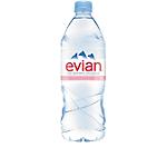 12 Bouteilles d'eau   Evian   1 L