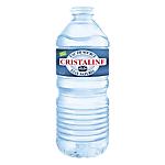 24 bouteilles d'eau   Cristaline   50 cl