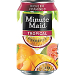 24 Boîtes   Minute Maid   Tropical 33 cl