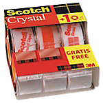 Ruban adhésif Scotch 19 (l) mm Crystal Transparent   2 + 1 GRATUIT