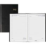 Agenda 2017 Office Depot Carré 1 Jour par page 21 (H) x 14 (l) cm Noir