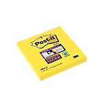 Lot de 12 blocs de 90 feuilles notes   Post it   Super Sticky   76 x 76   Jaune