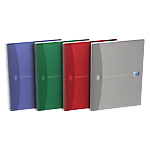 Cahier double spirale   Oxford   24 x 32 cm   grands carreaux   180 pages   coloris assortis