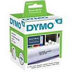 Rouleau d'étiquettes DYMO LabelWriter LW 89 (L) x 36 (l) mm Blanc   2