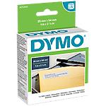 Rouleau d'étiquettes DYMO LabelWriter LW 5,4 (L) x 2,5 (H) cm Blanc