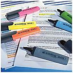 6 Feutres surligneurs   Edding   assorties 6 couleurs