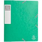 Boites de classement à élastique Exacompta Carte lustrée véritable 60 mm 32 (H) x 24 (l) cm Vert   10
