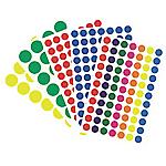 Pastilles adhésives APLI Apli Jaune 168 étiquettes   168 Pastilles