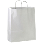 Sacs papier Papier  44 (H) x 35 (l) cm Blanc   50