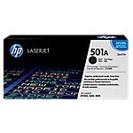 Toner HP D'origine 501A Noir Q6470A