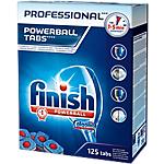Produit lave vaisselle Finish Powerball   125 tablettes