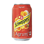 24 Boîtes   Schweppes   Agrumes 33 cl