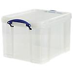 Boîte de rangement 35 litres transparent
