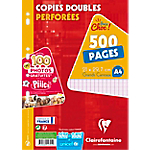 500 Copies doubles   Clairefontaine   A4   Petits carreaux