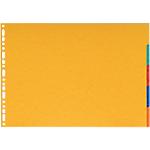 Intercalaires Niceday A3 6 couleurs