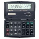 Calculatrice de poche   Casio   SL 210TE   10 chiffres   fonctions calcul des taxes et convertisseur de devises