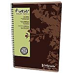 Cahier recyclé   Calligraphe   Forever   Petits carreaux   A4   reliure intégrale   100 pages