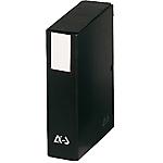 Boîte de classement Arianex 80 mm 32 (H) x 24 (l) cm Noir