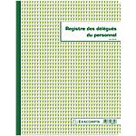 Registre délégués du personnel Exacompta 30 Pages 110 g