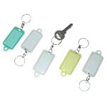 Porte clés anneau pivotant ELAMI Assortiment     5