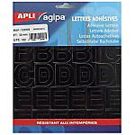 Chiffres noires pour signalisation personnalisée APLI Agipa     192 Lettres