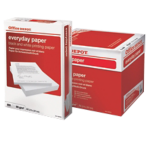 Papier Office Depot A4 80 g/m² Blanc Everyday - 5 Paquets de 500 Feuilles