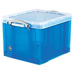 Boîte de rangement   35 litres   bleu