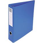 Classeur 4 anneaux   Exacompta   dos 80 mm   bleu