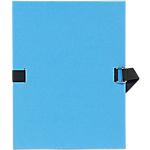 5 chemises à sangle   Exacompta   bleu clair
