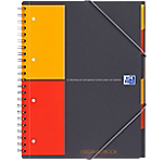 Cahier organisateur   Oxford   Office petits carreaux   230 x 297 mm   160 pages