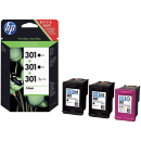 Pack HP301 3 cartouches - Office depot