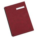 Parapheur extensible Papier 18 Office Depot 29,7 (H) x 24,2 (l) x 2,3 (P) cm A4 Rouge foncé