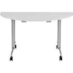 Table de réunion abattante Sodematub 140 x 70 x 74 cm Gris