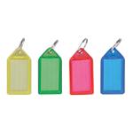 Porte clés Office Depot Assortiment de couleurs 5,4 (H) x 2,7 (l) x 0,5 (P) cm   50