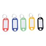 Porte clés Office Depot Assortiment de couleurs 5 (H) x 2,2 (l) x 0,3 (P) cm   50