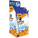 Stylo à bille BIC Cristal Soft Bleu   50