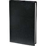 Semainier Reliure cousue PVC Quo Vadis Principal 24 (H) x 18 (l) cm 1 Semaine sur 2 pages Noir