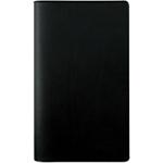 Semainier de poche Exacompta Planing Exaplan 2018 1 Mois sur 2 pages 17,5 (H) x 8 (l) cm Noir