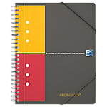 Cahier Meeting book   Oxford   Petits carreaux   178 x 225 mm   160 pages