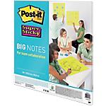 Post it Super Sticky Brainstorming, travail d'équipe 55,8 (H) x 55,8 (l) cm Vert fluo