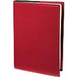 Agenda Quo Vadis Président Prestige 2018 1 Semaine sur 2 pages 21 (H) x 27 (l) cm Rouge